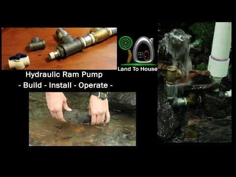 Hydraulic Ram Pump: Build-Install-Operate