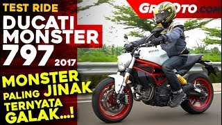 10. Ducati Monster 797 2017 Test Ride Review l GridOto