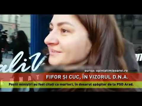 Mihai Fifor și Răzvan Cuc, citați la D.N.A. în dosarul șpăgilor pentru PSD Arad