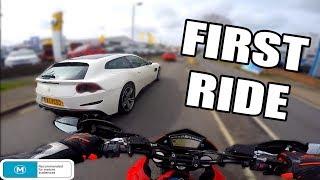 8. 2012 Ducati Hypermotard 796 First Ride   Termignoni Exhaust