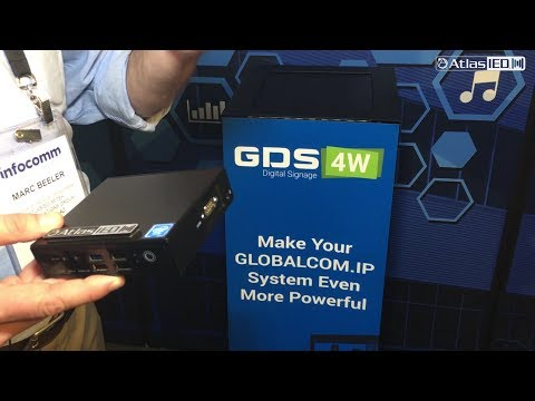 GDS-4W for GLOBALCOM.IP from InfoComm 2017