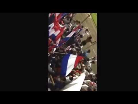 21/10/14 Olimpia vs Portland || ingreso de la Ultra Fiel con las banderas y bombos. - La Ultra Fiel - Club Deportivo Olimpia