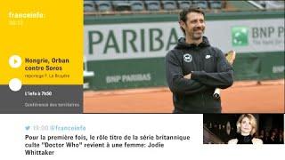 """Victoire de Roger Federer : """"On a l'impression d'écouter une symphonie quand on le regarde jouer"""""""