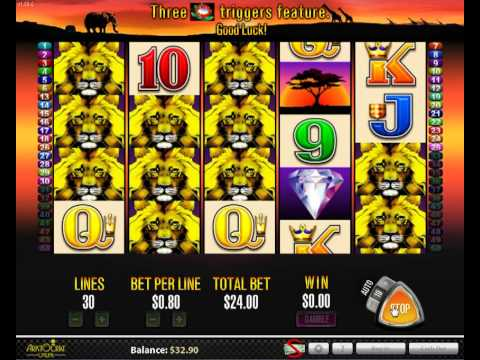 Aristocrat 50 Lions Online Pokies Slots. Play Free or Real.