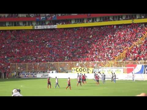 HD-Dale alegria a mi corazón | Soy del rojo desde la cuna | FINAL FAS vs Metapan - Turba Roja - Deportivo FAS