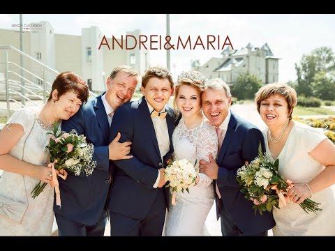 Видео Свадебный клип - Андрей&Мария.