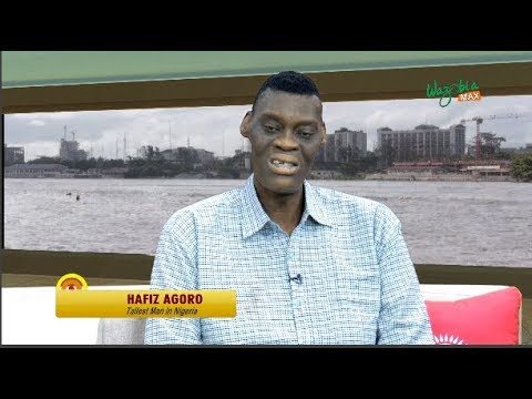 Nigeria's Tallest Man,   Hafis Agoro on being A Giant As A Blessing & A Curse - GMNS