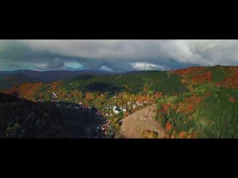 Dychvyrážajúce video z jesennej prírody v okolí Bystrice