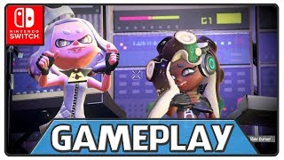 For the first time, take Turf War battles on-the-go with the Nintendo Switch™ system, and use any of the console's portable play styles for intense local multiplayer* action. Even team up for new 4-player co-op fun in Salmon Run!♦ Buy the Game:https://goo.gl/uGm6Ze☛ I recommend:Subscribe: http://goo.gl/yEhf6Leave a comment and I like it!✦ Follow me on ♦ Site - https://goo.gl/D3h7rr ♦ Twitter - https://goo.gl/b2PnNl ♦ Facebook - https://goo.gl/qH5yatⓒⓄⓃⓉⓇⒶⓃⒺⓉⓌⓄⓇⓀ