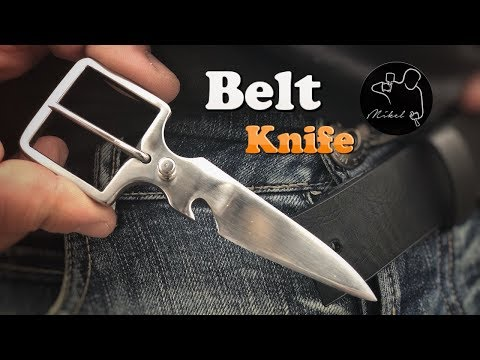 Belt Knife, how to make