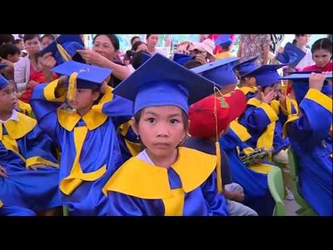 Trường mầm non Trà Cổ đón trường đạt chuẩn quốc gia mức độ 2