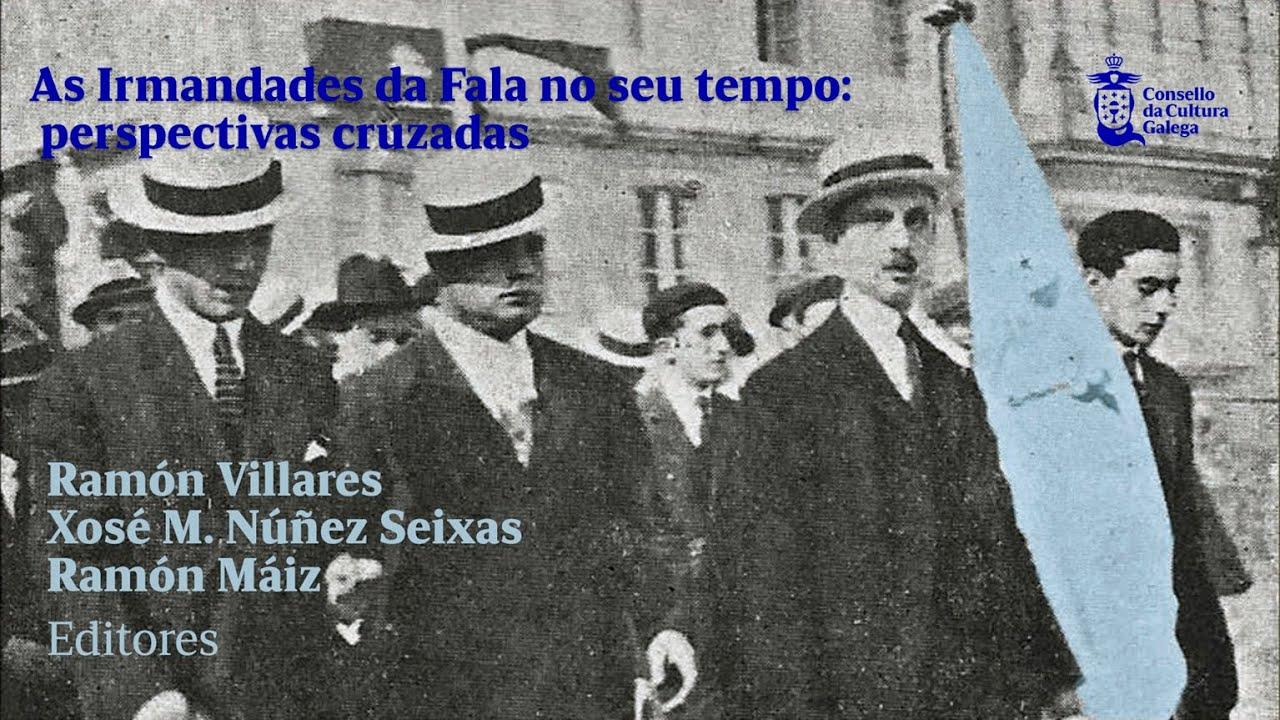 Rosario Álvarez, Xosé Manuel Núñez Seixas e Ramón Villares presentan as publicacións