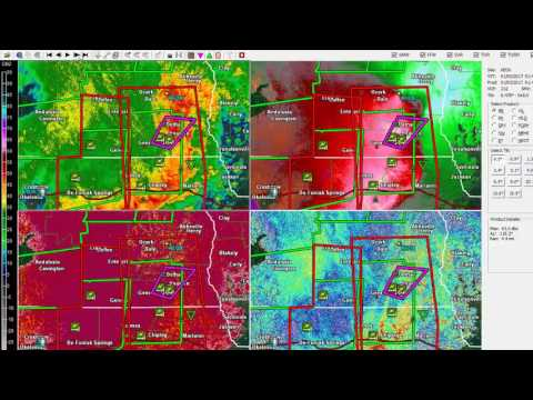 January 2nd 2017 Rehobeth Alabama Tornado Radar Analysis