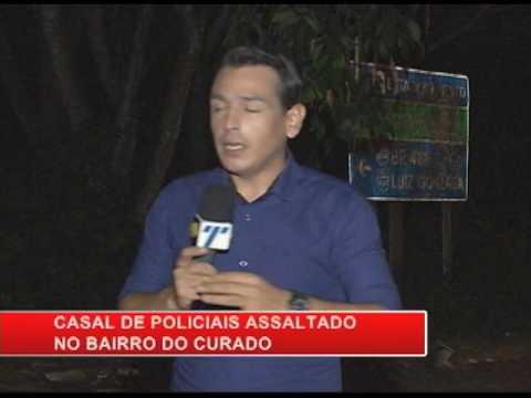 [RONDA GERAL] Casal de policiais é assaltado no bairro do Curado