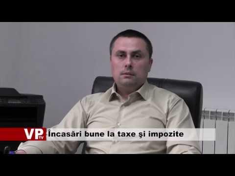 Încasări bune la taxe şi impozite