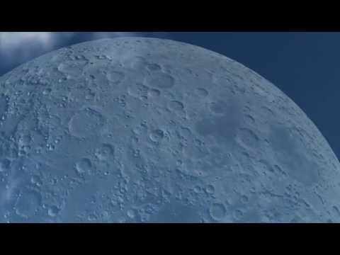 If The Moon Was At The Same Distance As The International Space