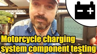 8. #1425 - Suzuki GN250 charging system component testing