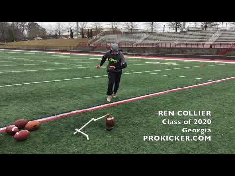 Ren Collier, Prokicker.com Kicker, Class of 2020, Georgia