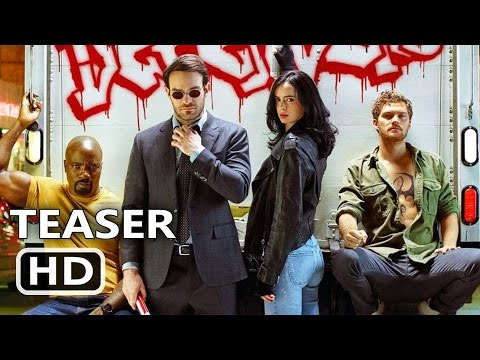 THE DEFENDERS Official Trailer TEASER (2017) Marvel, Netflix TV Show HD