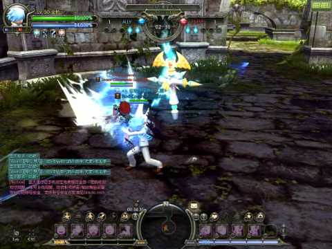 Dragon nest ~PVP~ Inquisitor VS Gladiator
