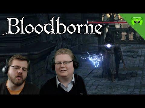 BLOODBORNE # 28 - Konkurrenz «» Let's Play Bloodborne Together | HD Gameplay