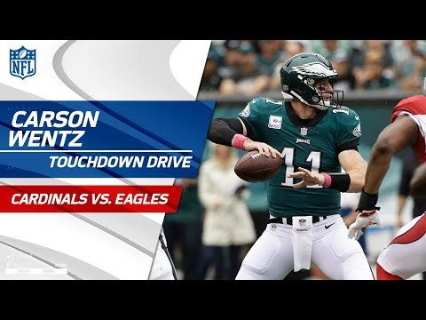 Video: Carson Wentz Leads Philly Downfield on Big TD Drive! | Cardinals vs. Eagles | NFL Wk 5
