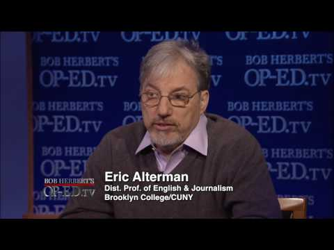 Bob Herbert's Op-Ed.TV: Eric Alterman on the Changing Media Landscape