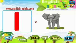 تعليم الاطفال الانجليزية - الارقام Numbers