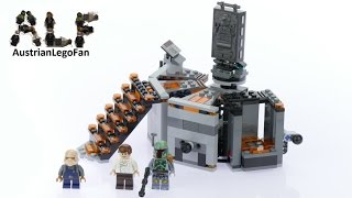Lego Star Wars 75137 Carbon-Freezing Chamber - Lego Speed Build Review