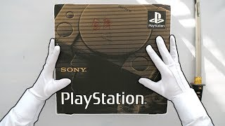 SONY PLAYSTATION UNBOXING! (First Ever Model) PS1 Original SCPH-1000 Japanese Launch Console