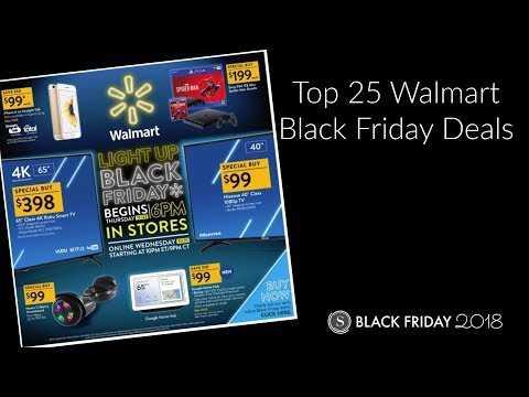 Top 25 Walmart Black Friday Deals 2018 | See the Best Deals in the Ad