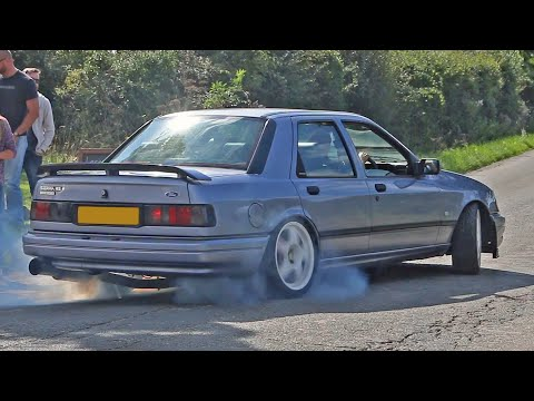 ford sierra rs cosworth: il pinnone cosworth