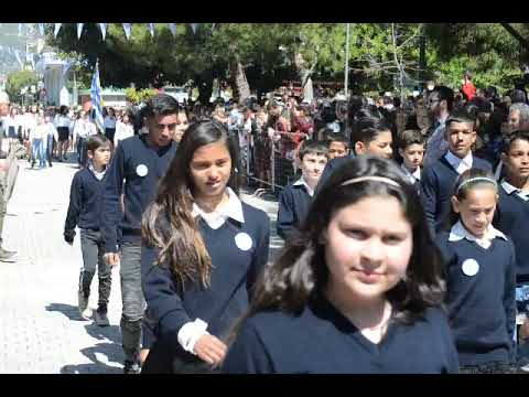 Video - Επεισόδια στη μαθητική παρέλαση της Καλλιθέας - Έριξαν μολότοφ