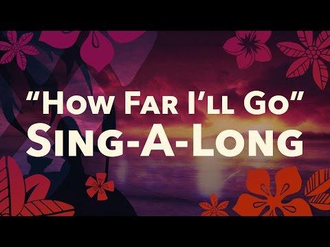 Moana : How Far I'll Go | #ReadAlong | Disney