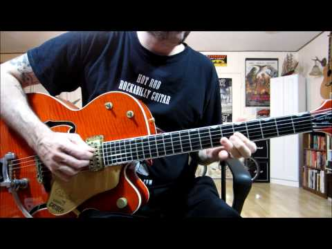 """""""Ultimate Rockabilly Guitar"""" instructional DVD by Damian Bacci (preview, excerpts)"""