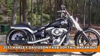 9. Used 2013 Harley Davidson Softail Breakout Motorcycles for sale