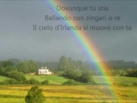 , title : 'Il Cielo d'Irlanda - Fiorella Mannoia (con testo)'