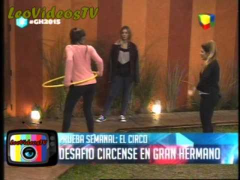 Prueba semanal Circense, Francisco siempre sabe de todo GH 2015 #GH2015 #GranHermano