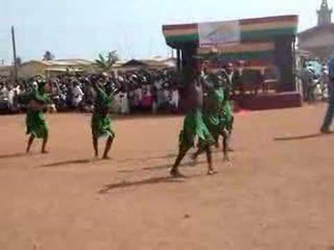 Fante Dance during Durbar, Ghana
