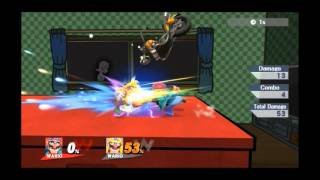 Wario Shield Break Punishes – Crazy damage potential even without Waft!