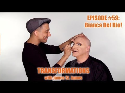 bianca - Enjoy the video? Subscribe here! http://bit.ly/1fkX0CV RuPaul's Drag Race season six winner, Bianca Del Rio transforms James St. James on this episode of Tra...