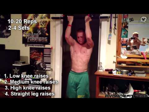 5 Great Indoor Pull-up bar Abs workout (Beginner)