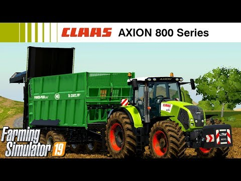 Claas Axion 800 Series v1.0.0.0