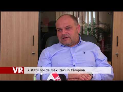 7 stații noi de maxi taxi în Câmpina