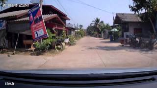 Non Din Daeng Thailand  city photo : โนนดินแดง Non Din Daeng Streets with Car 2014