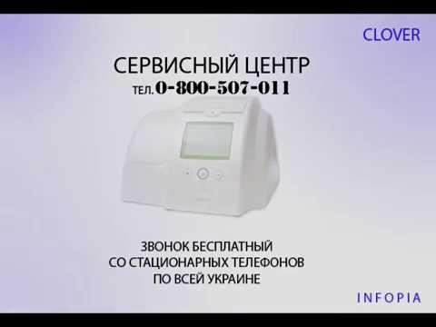 Видеоинструкция для Clover A1c (Infopia) на русском языке