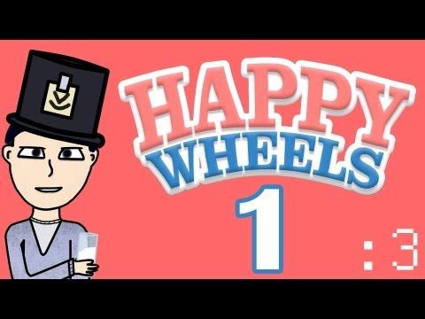 Кровь-Кишки в Happy Wheels #1 - Ловля на Кинжал :3