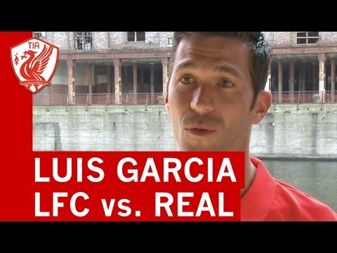 Liverpool Legends vs. Real Madrid Legends: Luis Garcia back at Anfield