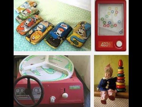 Советские игрушки. Сделано в СССР (видео)