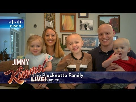 Jimmy Kimmel Interviews Kid Who Shaved Siblings Heads
